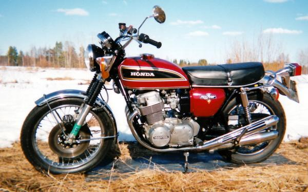 HONDA 20CB 20750 on honda cb 750 four
